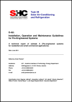 A5: Installation, Operation and Maintenance Guidelines for Pre-Engineered Systems